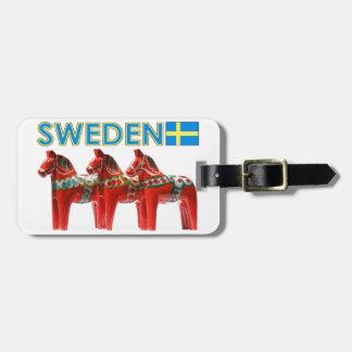 スウェーデンDalaの馬 ラゲッジタグ