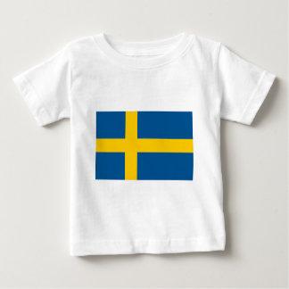 スウェーデンSE ベビーTシャツ