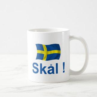スウェーデンSkal! コーヒーマグカップ