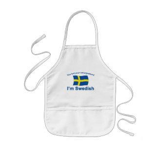 スウェーデンSmorgasbord 1 子供用エプロン
