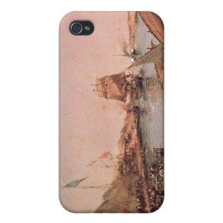 スエズ運河の出荷 iPhone 4/4S カバー