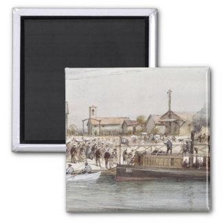 スエズ運河の就任式 マグネット
