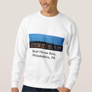 スエットシャツ… ボートハウスの列、フィラデルヒィア、PA スウェットシャツ