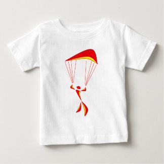 スカイダイビングの一突き ベビーTシャツ