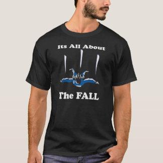 スカイダイビング-すべてに約秋 Tシャツ