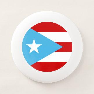 スカイブルーのプエルトリコ人の旗 Wham-Oフリスビー