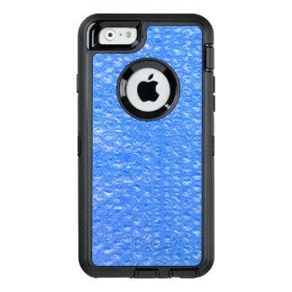 スカイブルーのBathの泡Seafoamのパステル調のブルーベリー オッターボックスディフェンダーiPhoneケース