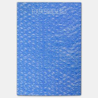 スカイブルーのBathの泡Seafoamのパステル調のブルーベリー ポスト・イット®ノート