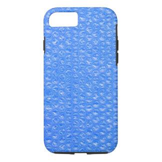 スカイブルーのBathの泡Seafoamのパステル調のブルーベリー iPhone 8/7ケース