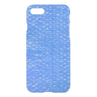 スカイブルーのBathの泡Seafoamのパステル調のブルーベリー iPhone 8/7 ケース