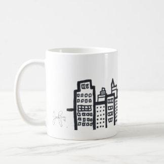 スカイラインのマグ コーヒーマグカップ