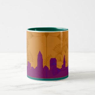 スカイラインのマグ ツートーンマグカップ