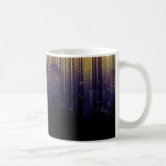 スカイラインのリボン コーヒーマグカップ