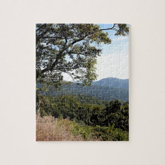 スカイラインドライブ山景色 ジグソーパズル