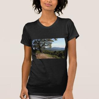 スカイラインドライブ山景色 Tシャツ