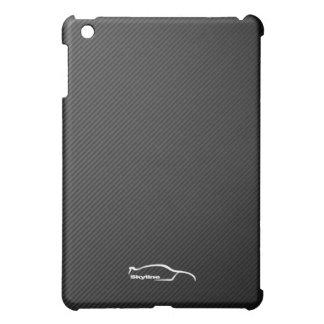 スカイラインGTRの白いシルエットのロゴ iPad MINI CASE