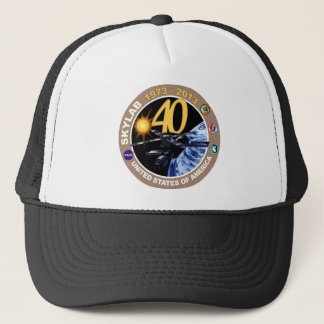 スカイラブ計画:  第40記念日のロゴ! キャップ