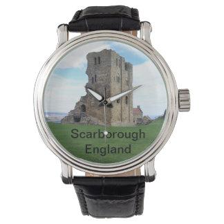 スカボロの城、イギリス 腕時計