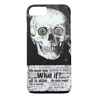 スカルおよび生命は決してiPhone 7の場合を終えません iPhone 8/7ケース
