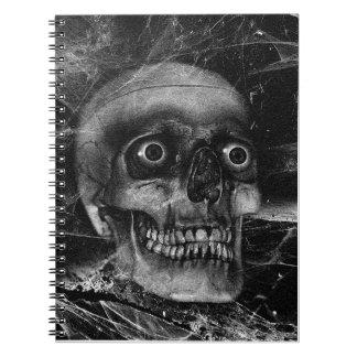 スカルのカスタムのノート ノートブック