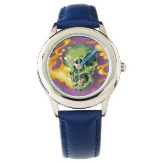 スカルのカボチャ腕時計 腕時計