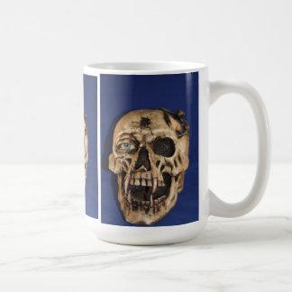 スカルのコップ コーヒーマグカップ