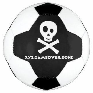 スカルのサッカーボール サッカーボール