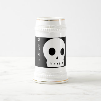 スカルのジョッキ ビールジョッキ