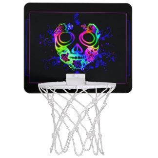 スカルのデザイン ミニバスケットボールゴール