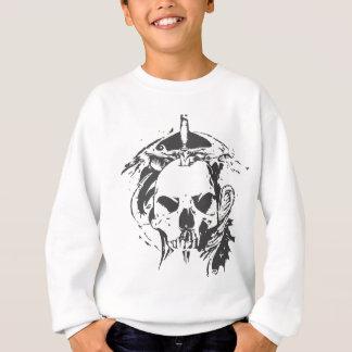 スカルのドラゴン スウェットシャツ