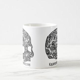 スカルのマグ-標準 コーヒーマグカップ