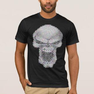 スカルのモザイク Tシャツ
