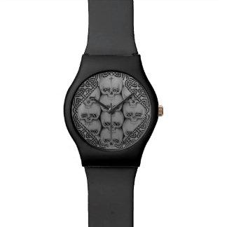 スカルのユニークなケルト族の腕時計のオリジナル 腕時計