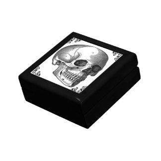 スカルのヴィンテージの芸術のゴシック様式ビクトリアンな宝石箱 ギフトボックス