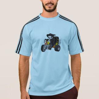 スカルの乗車大きい三輪車 Tシャツ