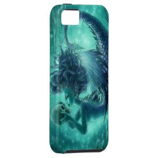 スカルの人魚のiPhone 5の場合-秘密のキス iPhone SE/5/5s ケース