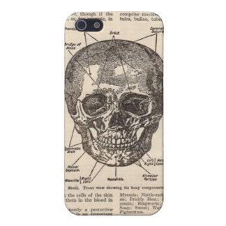 スカルの医学の本のAnatonyのiPhone iPhone 5 Cover