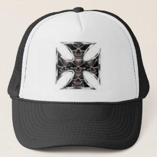 スカルの十字 キャップ