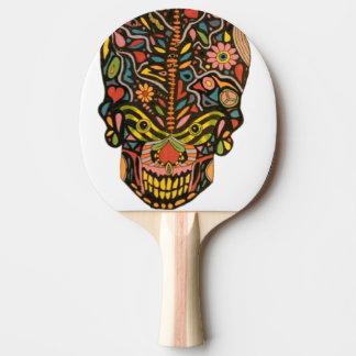 スカルの卓球ラケット ピンポンラケット
