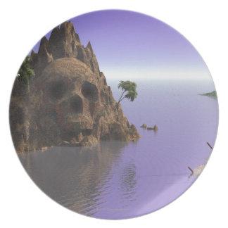 スカルの島 プレート