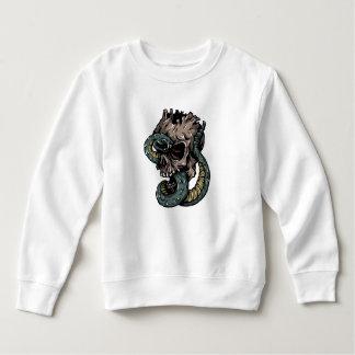 スカルの幼児のフリースのスエットシャツ スウェットシャツ