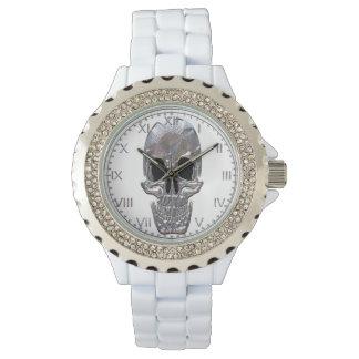 スカルの幽霊 腕時計
