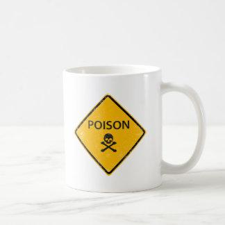 スカルの毒 コーヒーマグカップ