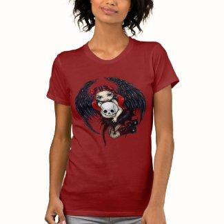 スカルの泥棒のゴシック様式妖精のワイシャツ