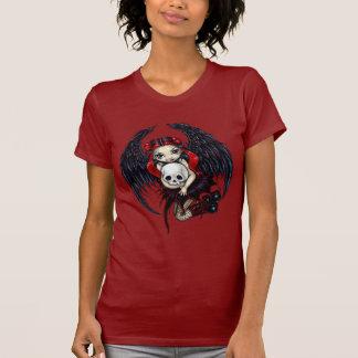 スカルの泥棒のゴシック様式妖精のワイシャツ Tシャツ