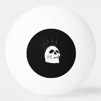 スカルの王冠のピンポン球 卓球ボール