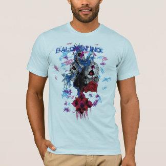 スカルの破烈、BALDWIN IND. Tシャツ