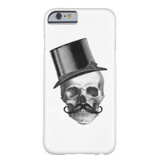 スカルの紳士の電話箱 BARELY THERE iPhone 6 ケース