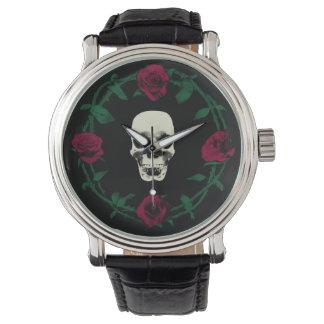 スカルの腕時計 腕時計