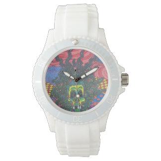 スカルの芸術 腕時計